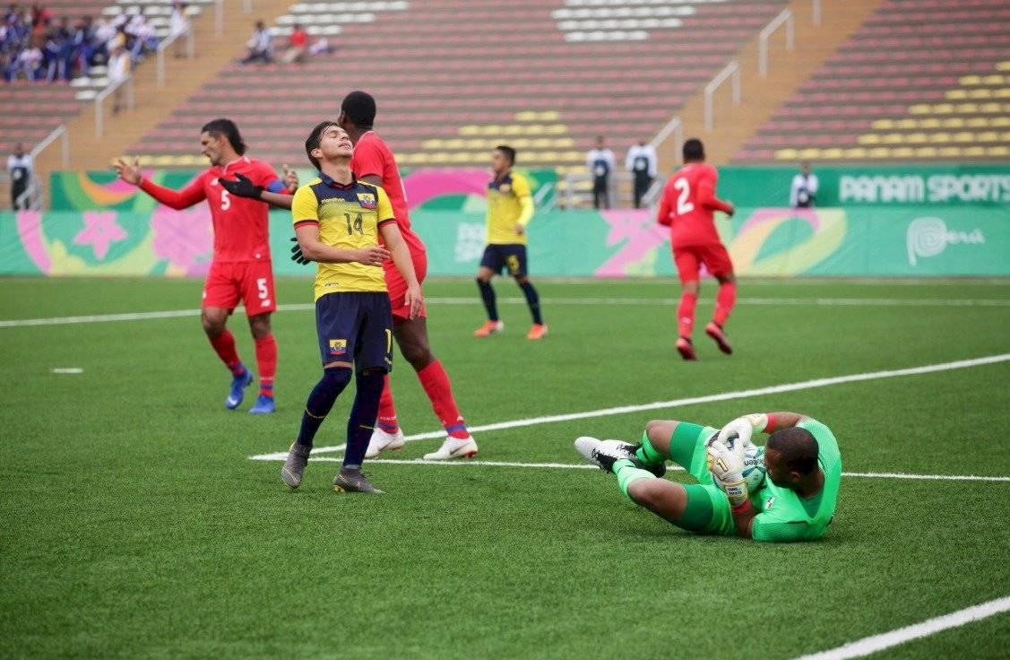 Ecuador Sub-23 empató 1-1 ante Panamá Twitter @DeporteEC