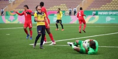 Ecuador Sub-23 empató 1-1 ante Panamá