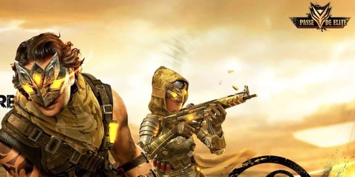 Novo Passe de Elite 'Tempestade de Areia' já está disponível no Garena Free Fire