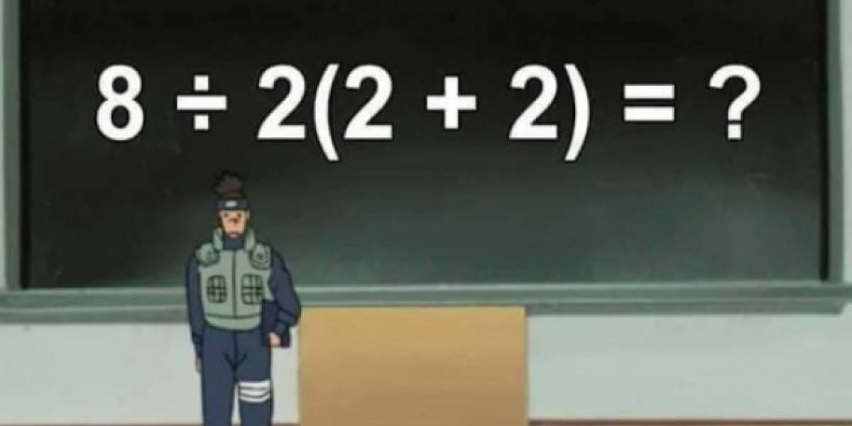 """¿Puedes resolver el viral del momento? Así es la operación matemática """"imposible"""" que tiene de cabeza a las redes sociales"""