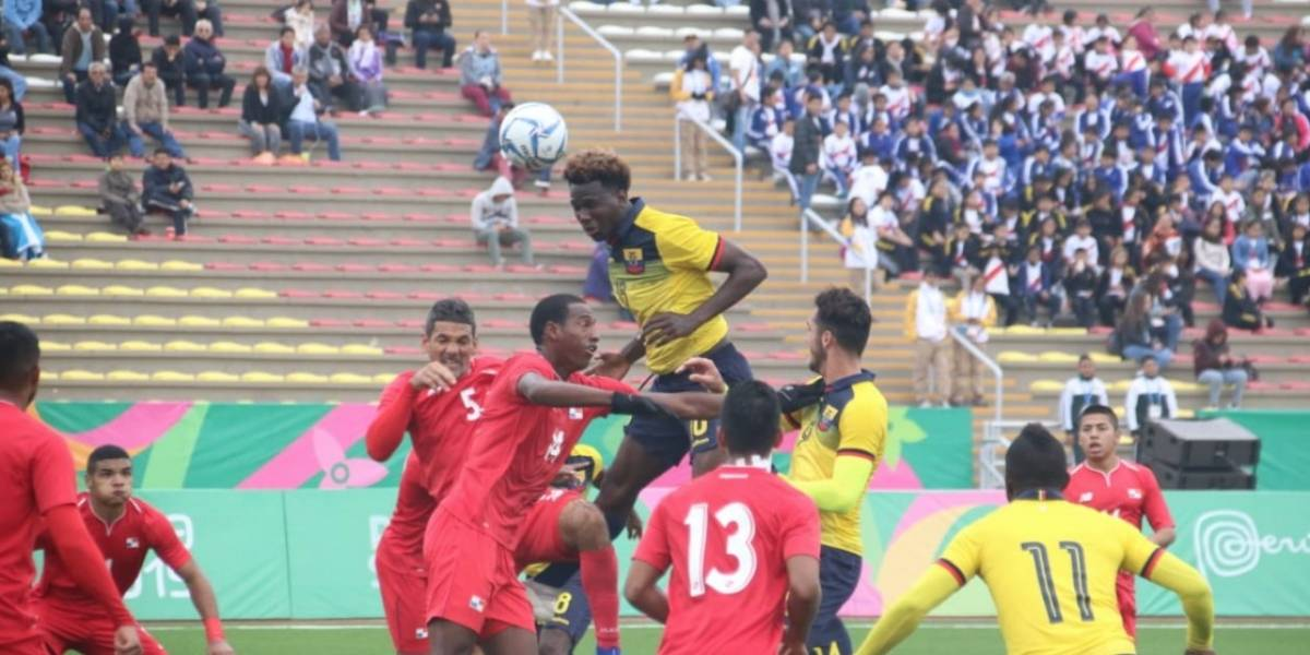 Juegos Panamericanos Lima 2019: Ecuador Sub-23 empató 1-1 ante Panamá