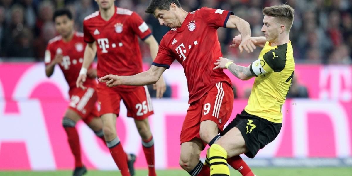 Borussia Dortmund y Bayern Múnich definen el campeón de la Supercopa de Alemania