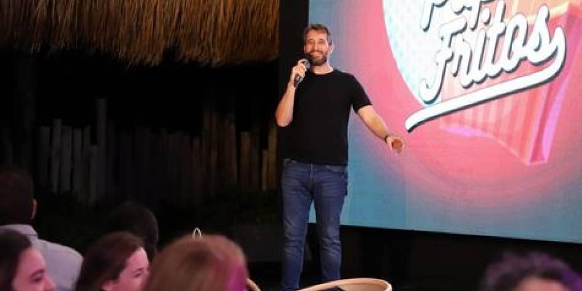 """Carlos Sánchez presentó su show """"Papás Fritos"""" en Playa Blanca"""