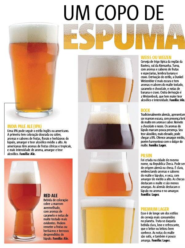 cerveja - estilo