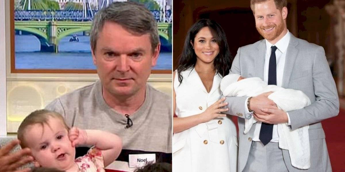 Pai da maior família britânica manda indireta para Harry e Meghan Markle em programa de TV