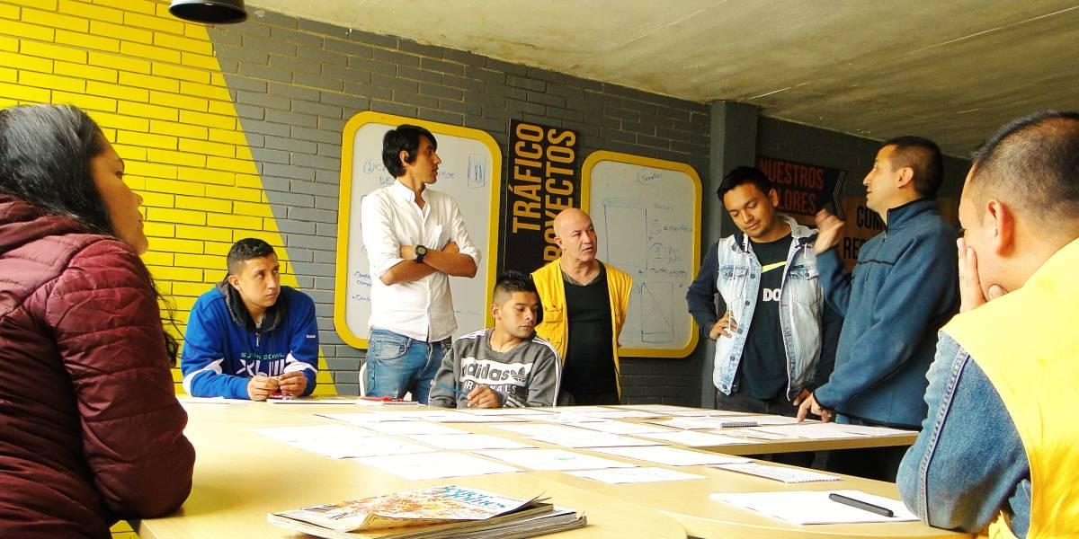 Una campaña publicitaria hecha por presos de la Cárcel La Modelo