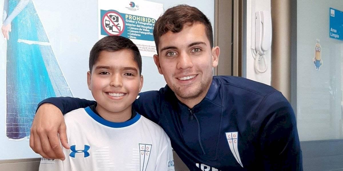 """Saavedra no se hace lío con la inminente llegada de Silva a la UC: """"Lo veo como una oportunidad de crecimiento"""""""