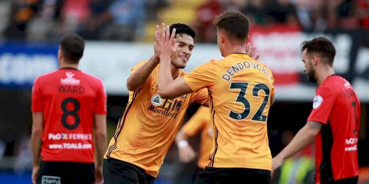 Raúl Jiménez da el triunfo al 'Wolves', en Europa League