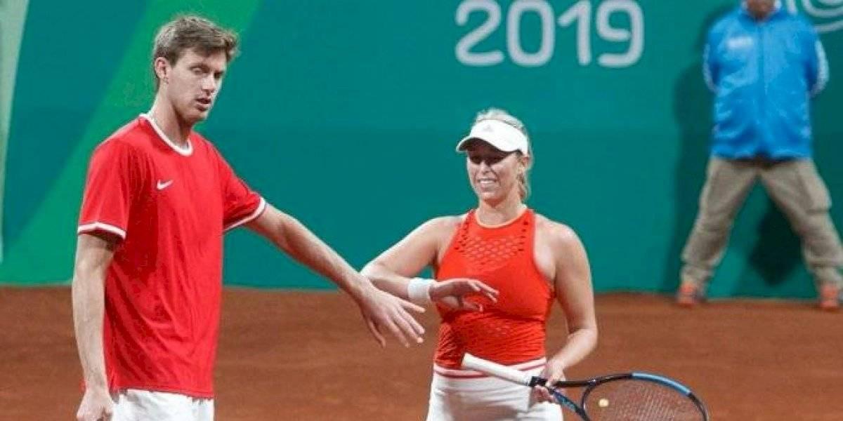 Guarachi y Jarry confirman su favoritismo en su debut del dobles mixto de los Panamericanos