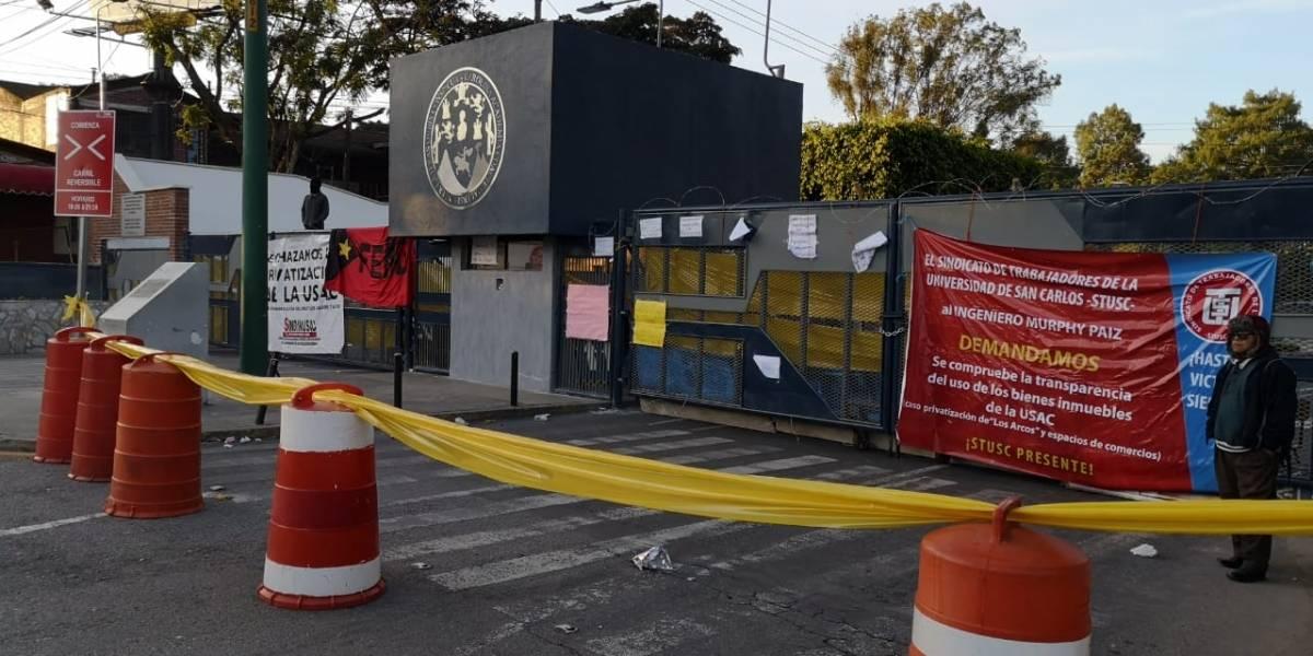 Estudiantes mantienen tomados seis edificios de la Usac