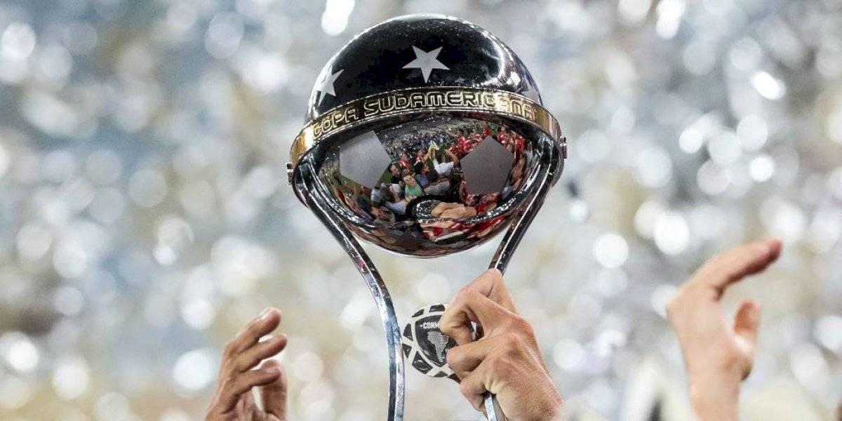 Con dos chilenos en competencia: Así es el cuadro de los cuartos de final de la Copa Sudamericana