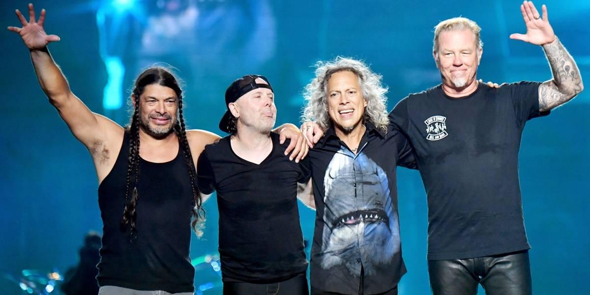 Metallica llegará a los cines en octubre