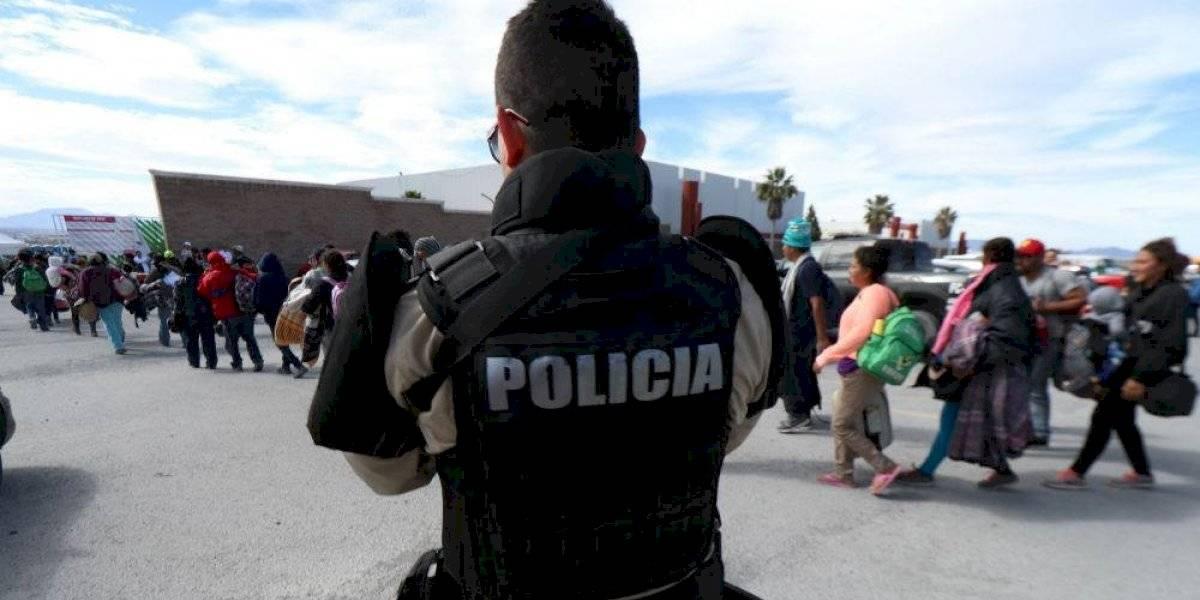 Migrante salvadoreño disparó en contra de la policía, asegura Fiscalía