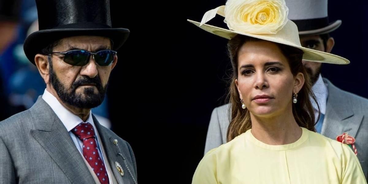 No sólo da que hablar la realeza europea: princesa Haya de Jordania pide una orden de alejamiento contra su marido en medio de su divorcio