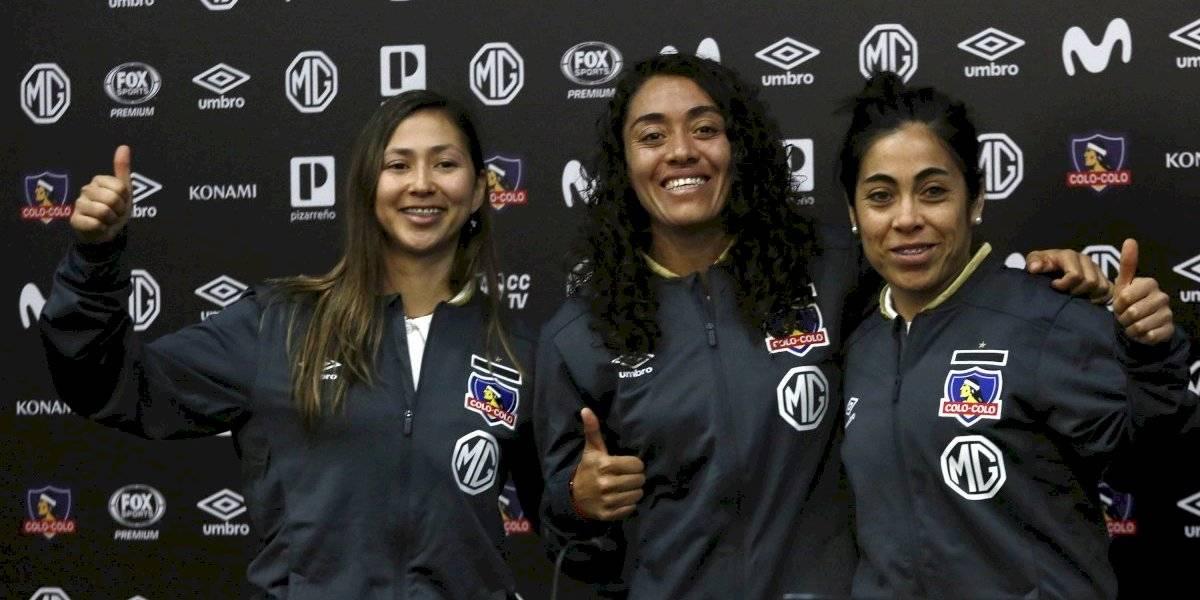 No le pierden pisada a Santiago Morning: Colo Colo femenino presentó a sus refuerzos para continuar la lucha por el título