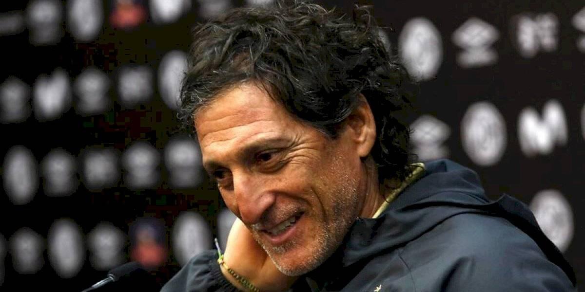"""Salas se preocupa de Colo Colo, no de la UC: """"El foco no es Católica, es seguir mejorando y reforzar virtudes"""""""