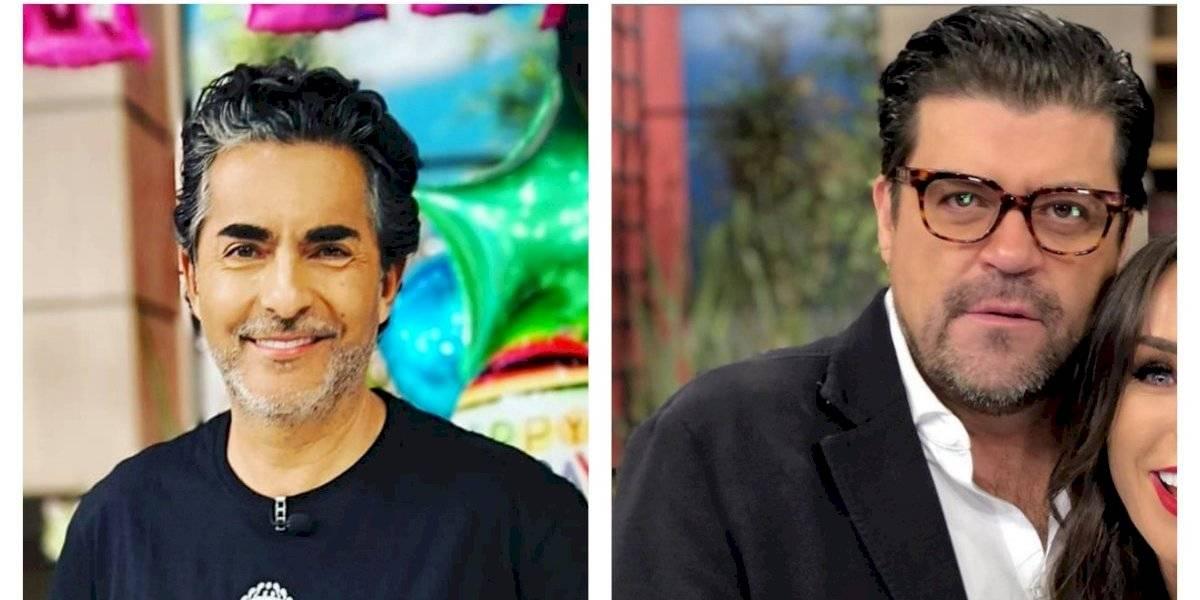 Raúl Araiza y el Burro Van Rankin se besan en pleno programa 'Hoy'