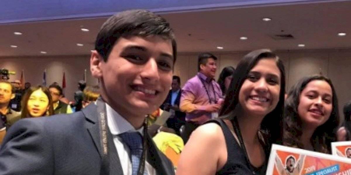 Hijo de Cristina Siekavizza destaca en campeonato internacional de Microsoft