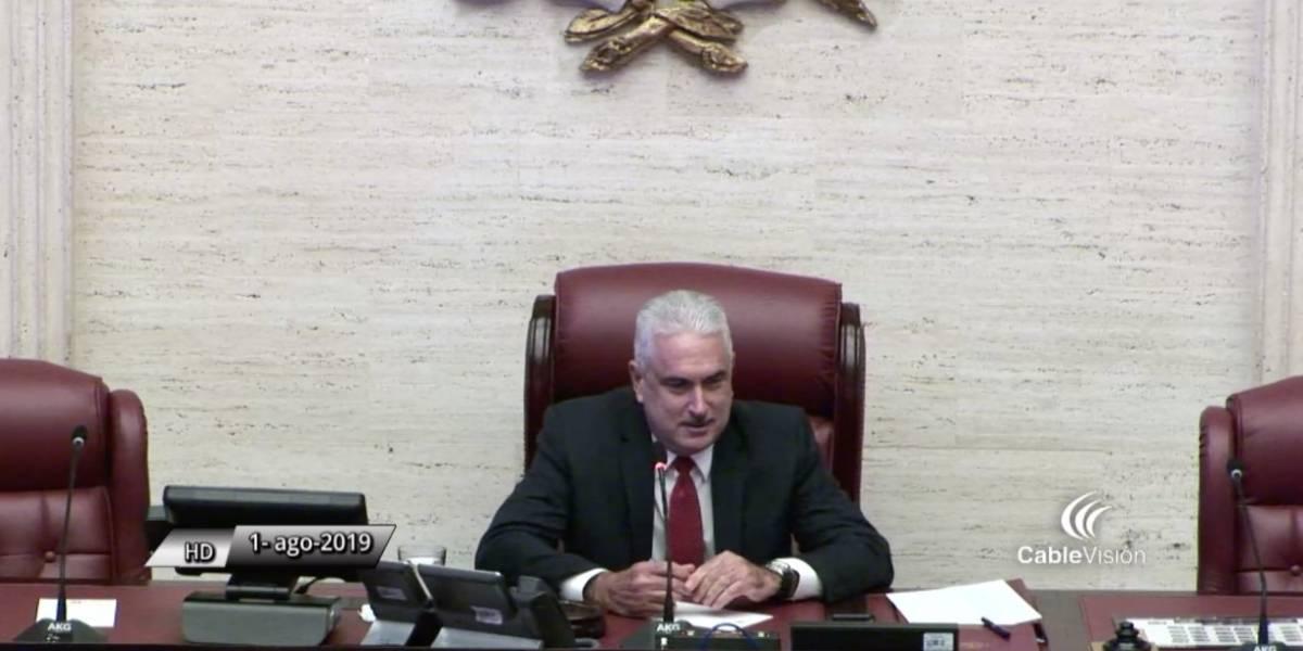 EN VIVO: Senado comienza sesión para atender nombramiento de Pedro Pierluisi
