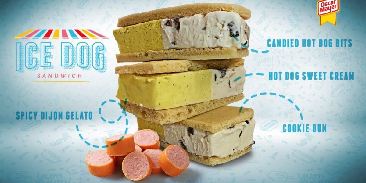 """""""Gringos"""" siempre un paso adelante: Sacarán helado de Hot Dog"""