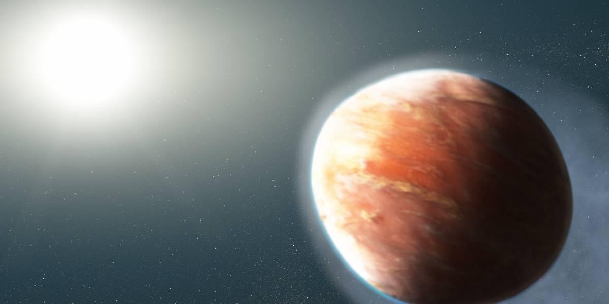 Tiene una atmósfera de 2.537 ºC: así es el exoplaneta con forma de pelota de rugby según la Nasa