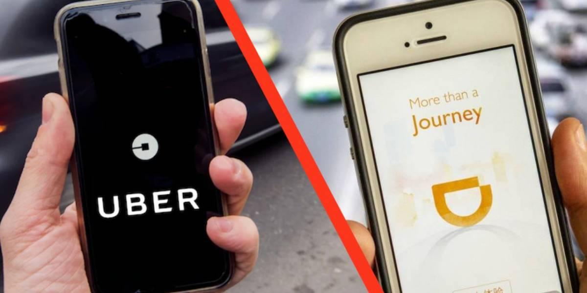 Estas son las razones por las que los mexicanos usan Uber y DiDi