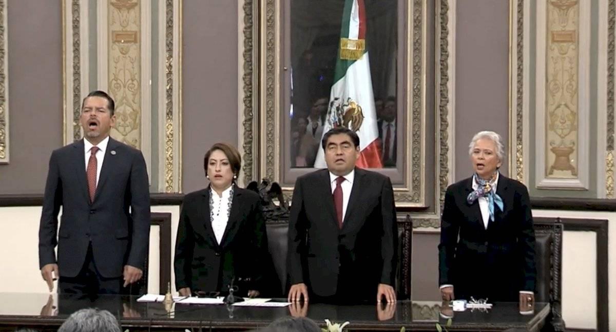 Miguel Barbosa, gobernador de Puebla. Foto: captura de pantalla
