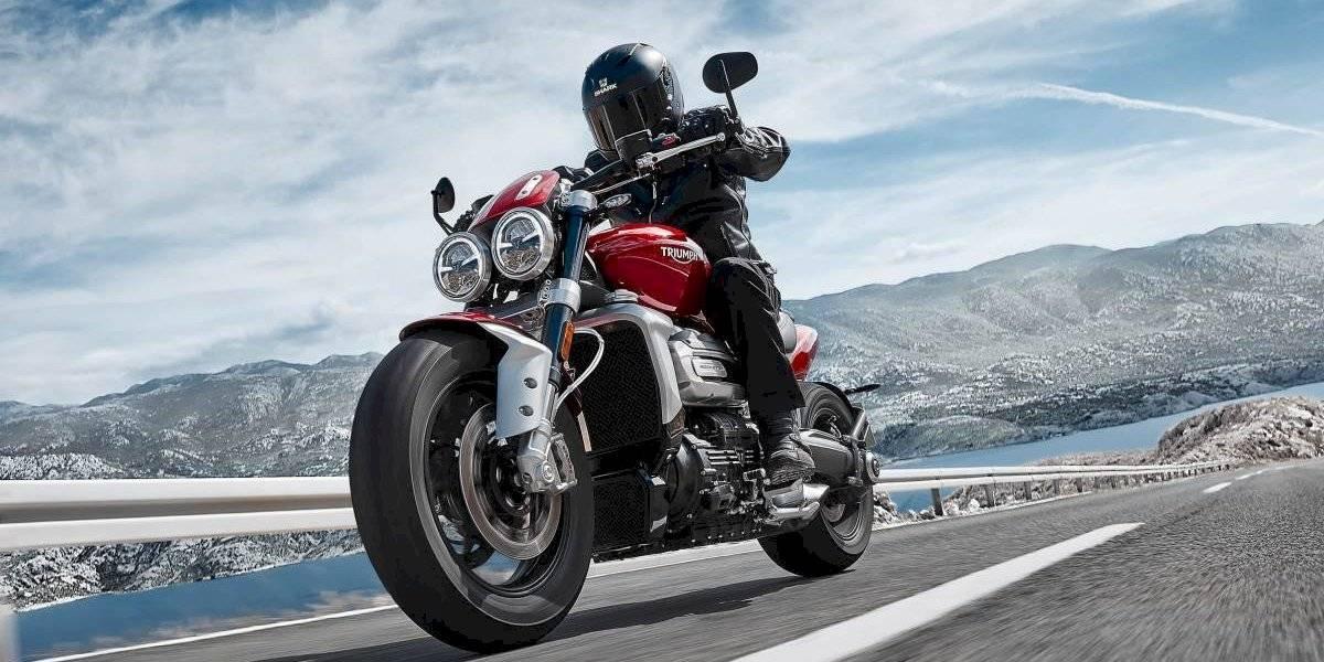 Triumph lanza la moto de mayor cilindrada del mundo, la Rocket 3