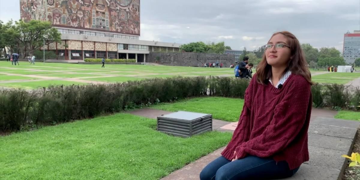 Vannia Estefanía consigue examen perfecto para estudiar medicina en la UNAM