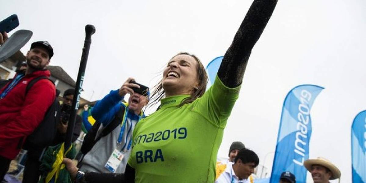Pan-Americano: Brasil leva ouro e prata no stand-up paddle