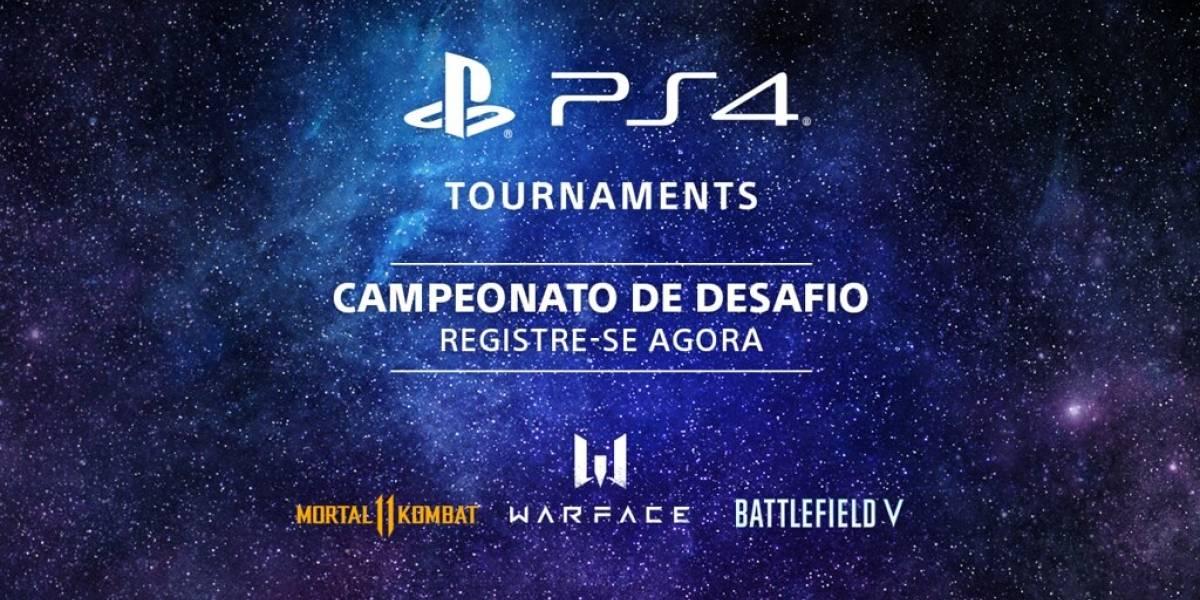 PS4 Tournaments: jogadores podem participar de nova competição na plataforma de games