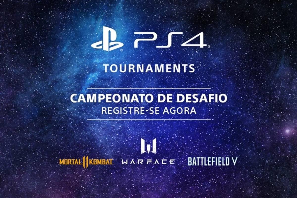 PS4 Tournaments: jogadores podem participar de nova competição na