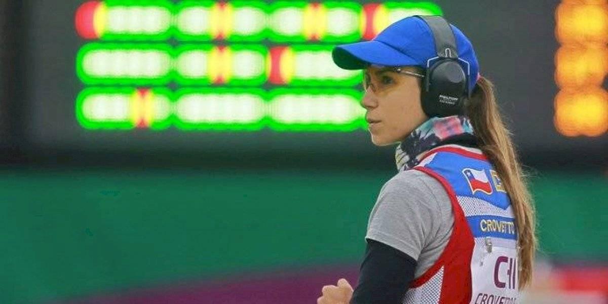 Francisca Crovetto respondió a las expectativas y ganó medalla de plata en Lima 2019