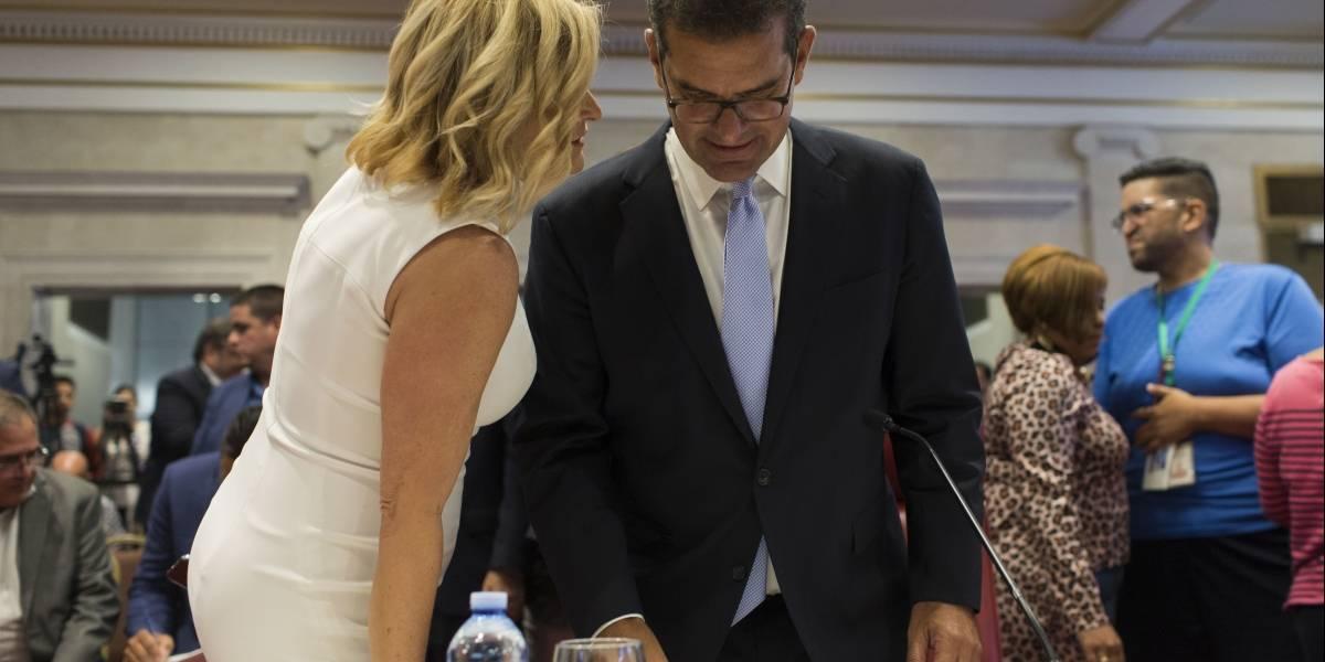 Pedro Pierluisi llega a Fortaleza