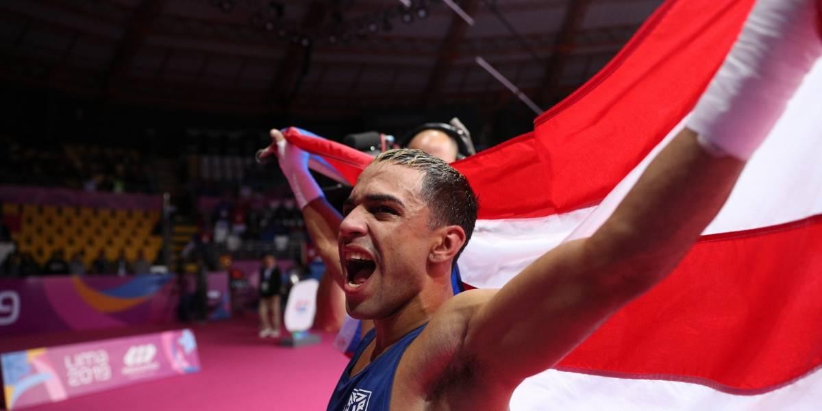 Óscar Collazo se alza con oro en la división minimosca del boxeo de los Panamericanos 2019