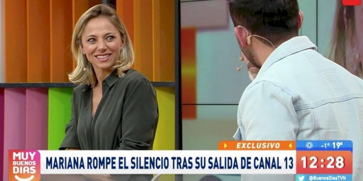 """Mariana Derderián se confiesa tras su salida de Canal 13: """"Me hubiese gustado seguir en el matinal"""""""