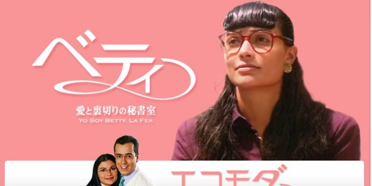Hasta Japón llegó la fiebre de Betty la fea y así la llaman en su lengua