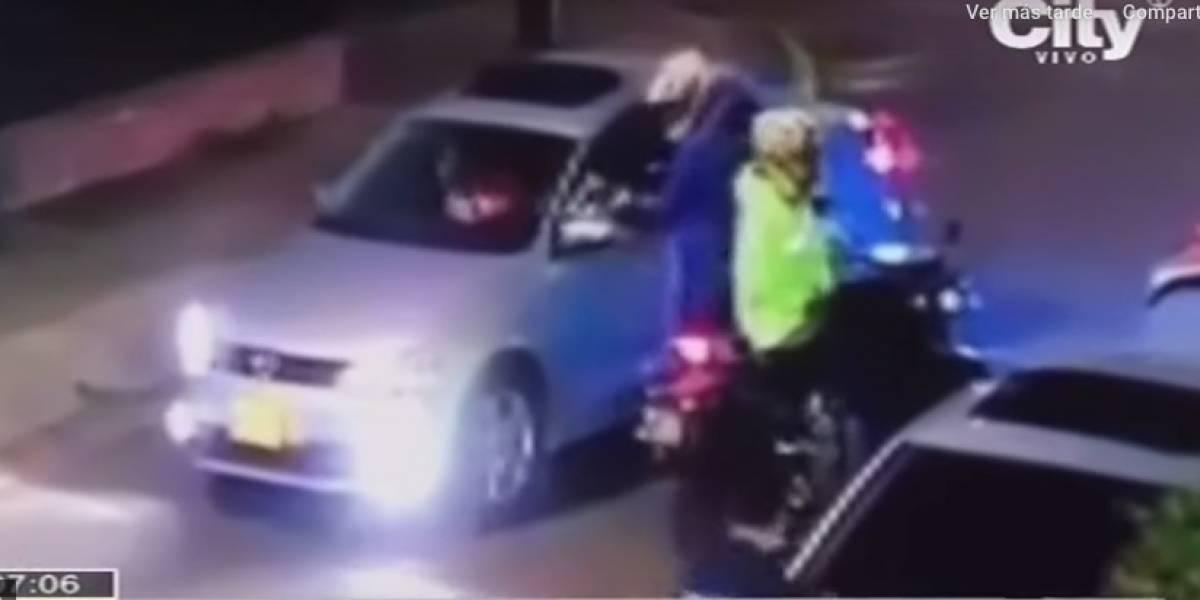 (VIDEO) Ladrones en moto tienen azotado el sector de Quinta Paredes, cerca a la Embajada de Estados Unidos