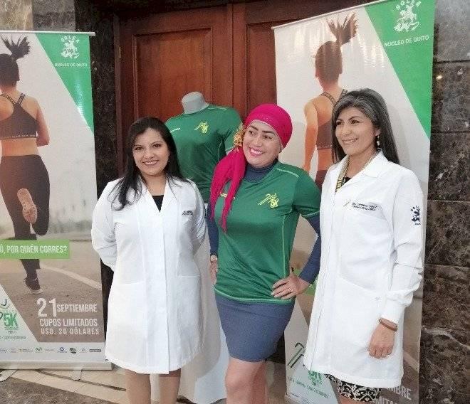 Yessenia Vallejo, paciente de Solca