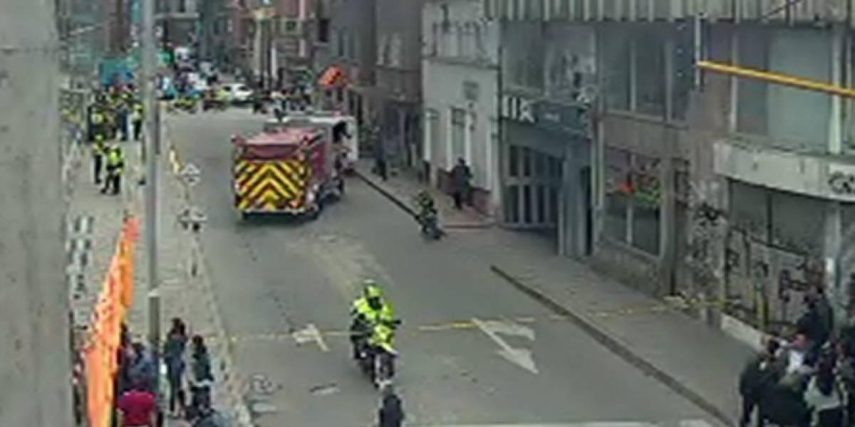 ¡Atención! Reportan la caída de una persona desde el quinto piso del edificio Bacatá en Bogotá