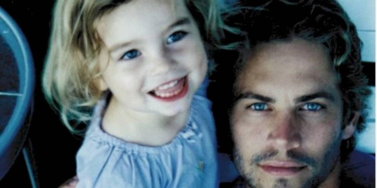 Así luce la hija de Paul Walker a sus 20 años