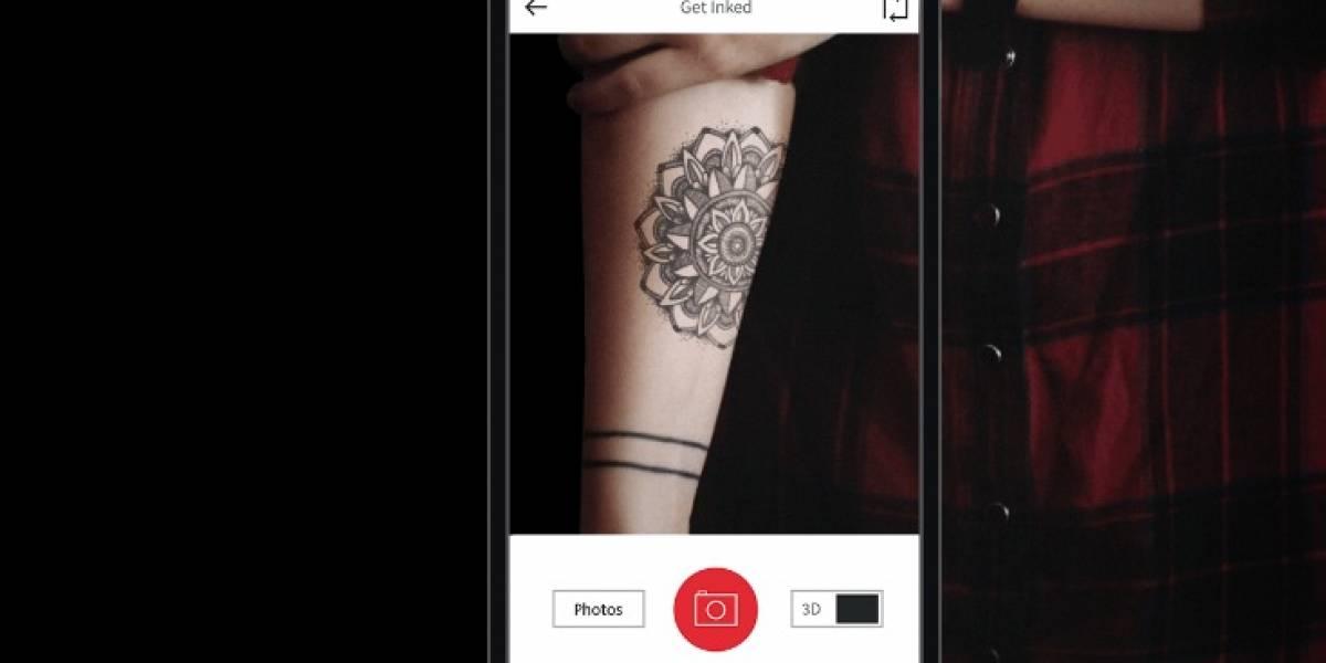 ¿Quieres hacerte un tatuaje? Comprueba primero qué tal se te ve con la aplicación InkHunter