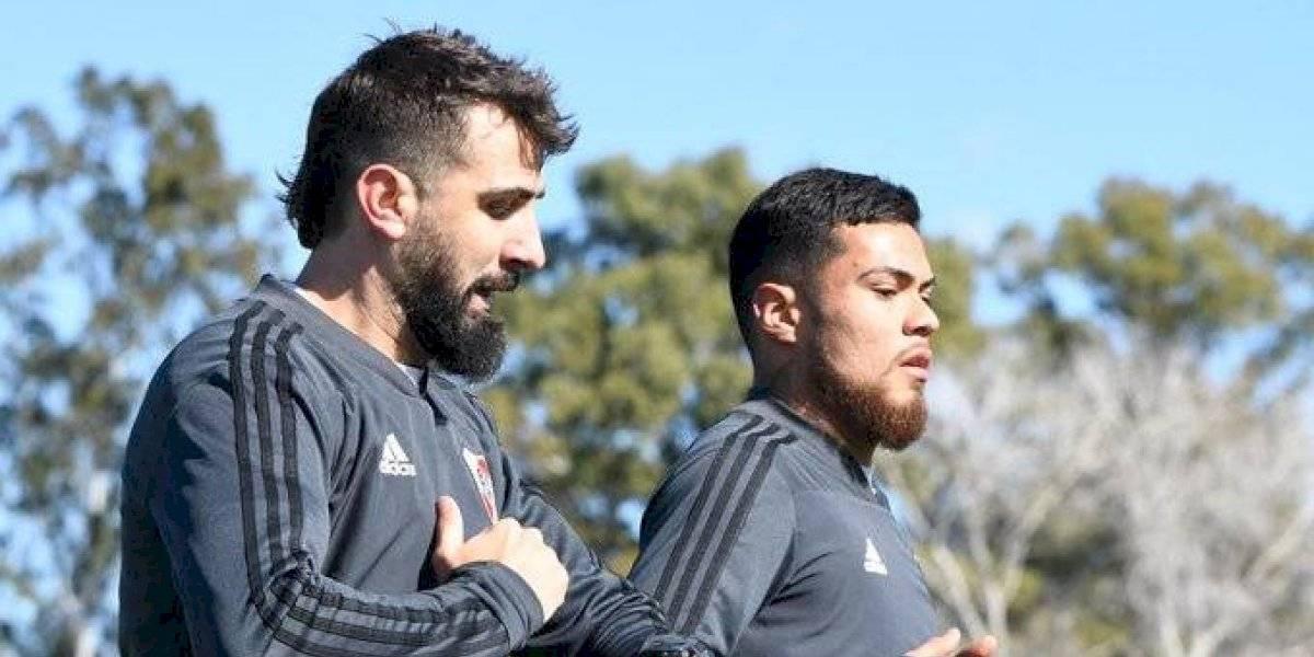 """Marcelo Gallardo está """"contento"""" con el bombero Paulo Díaz en River: """"Es muy competitivo, nos va a dar soluciones"""""""