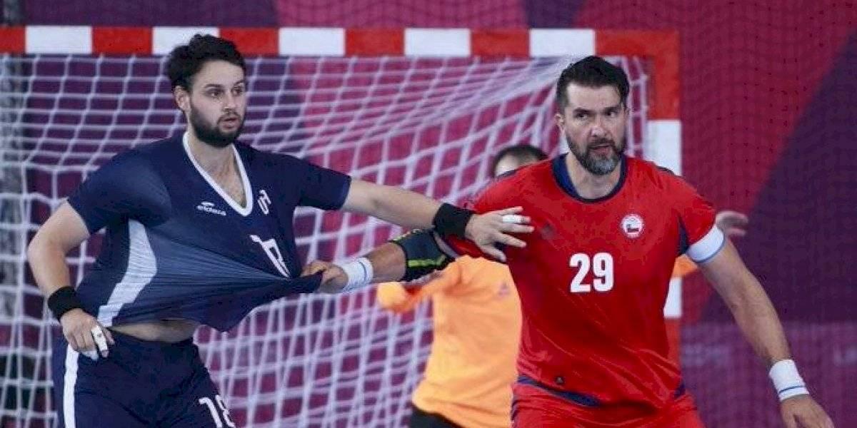 El Team Chile derrota cómodamente a Estados Unidos y clasifica a semifinales del balonmano masculino