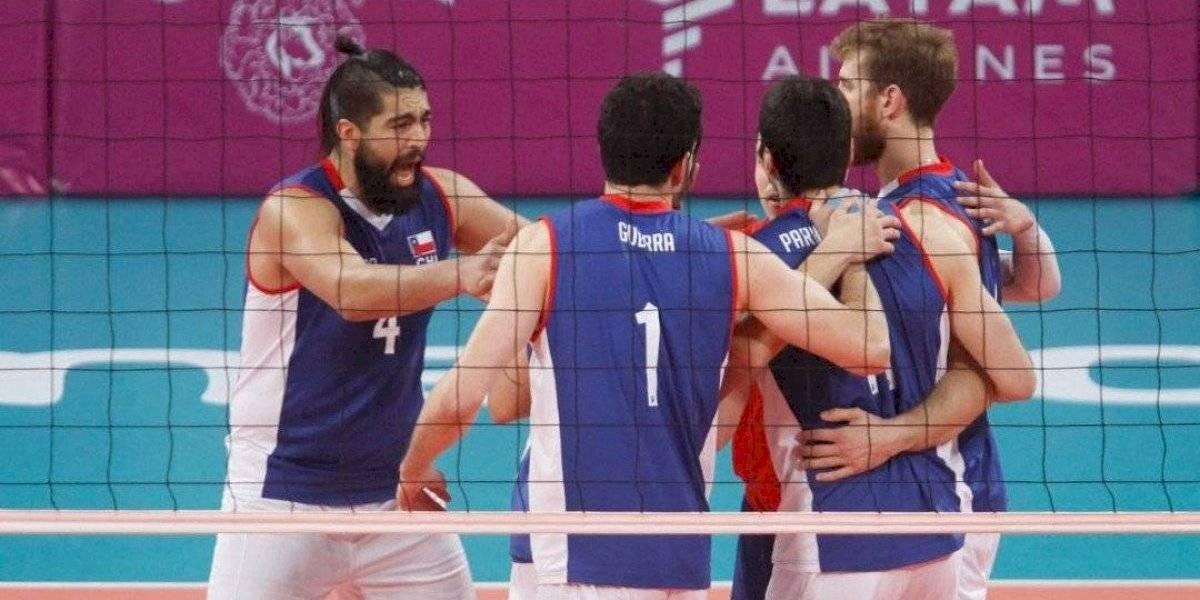 El Team Chile de Voleibol Sala queda a un paso de una histórica clasificación a semifinales de los Panamericanos