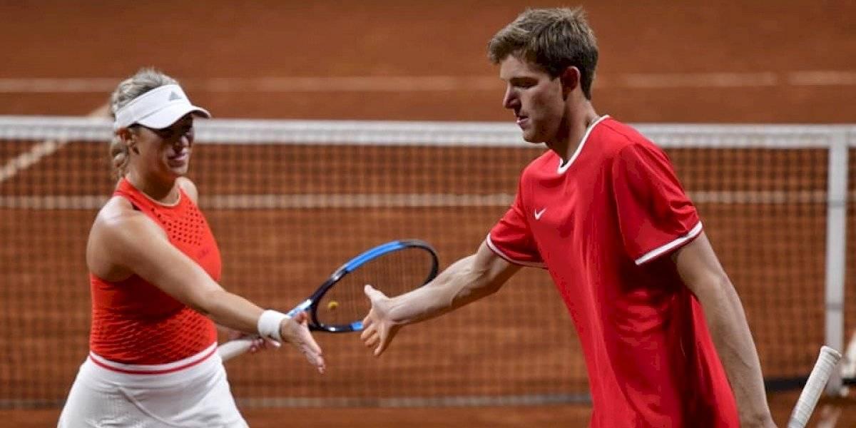 Jarry y Guarachi se sacudieron de sus derrotas y ahora van por el oro en el dobles mixto