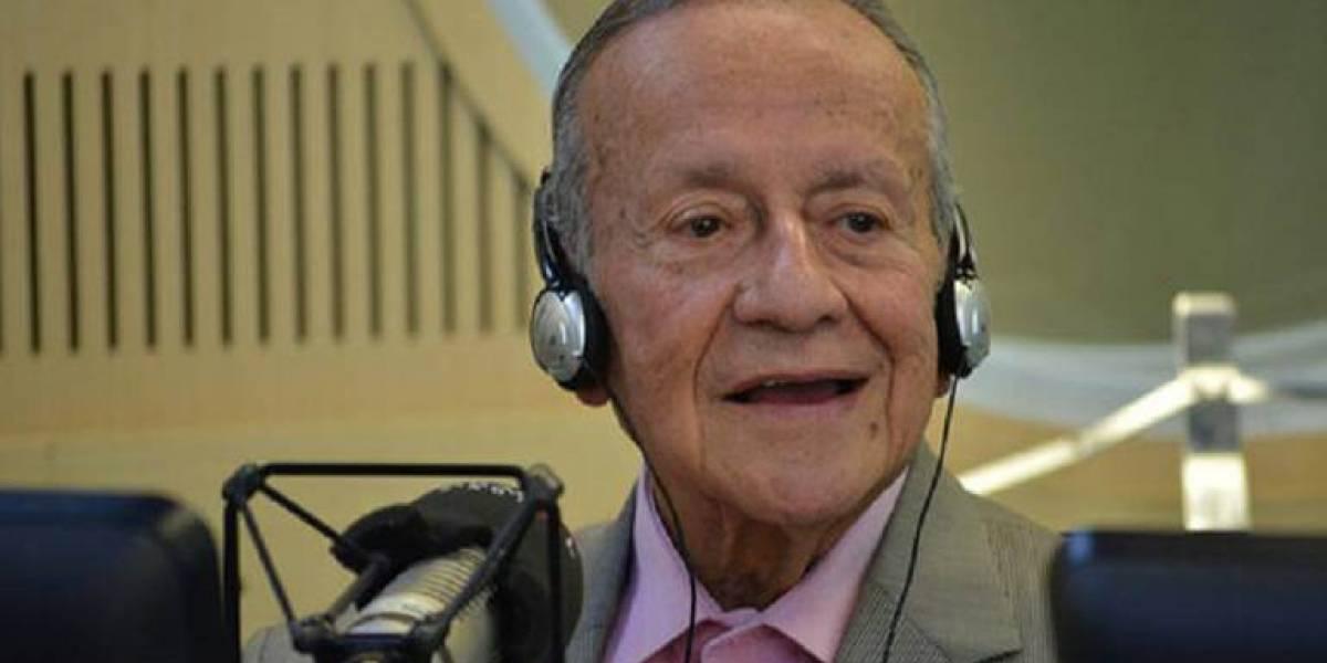 ¡Triste noticia! Fallece el periodista Gabriel Muñoz a sus 92 años