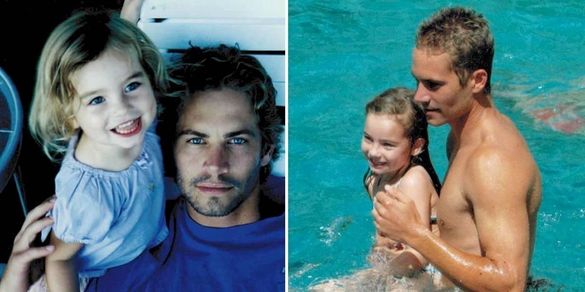 Hija de Paul Walker presume su belleza
