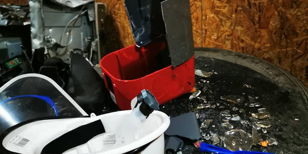 """""""Sala de ira"""": La mayoría de los usuarios son mujeres y todo lo que se destruye se recicla"""