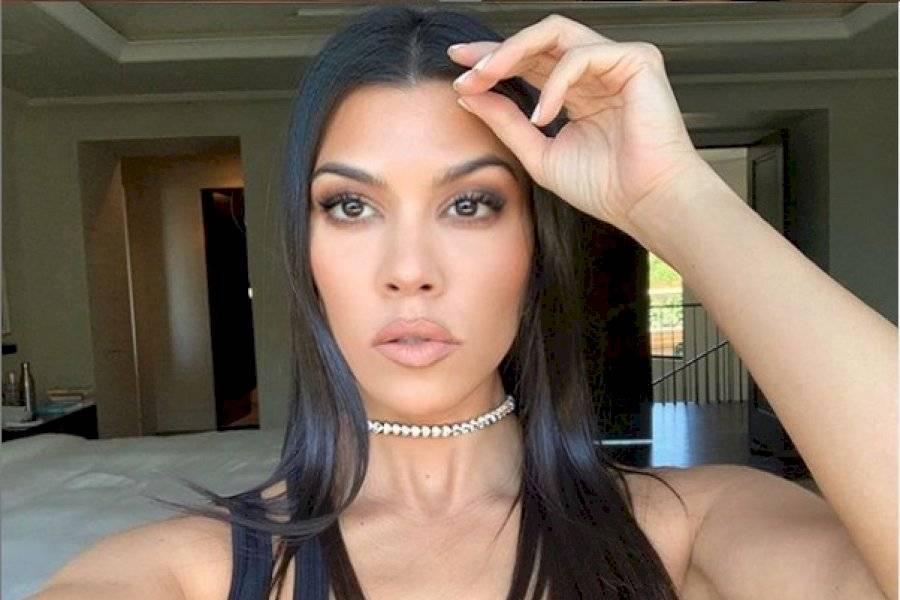 El Explícito Desnudo De Kourtney Kardashian Que Encendió Las Redes